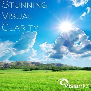 Stunning visual clarity